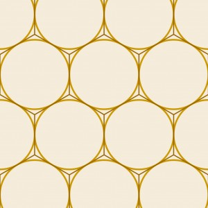 Honeycomb with circles